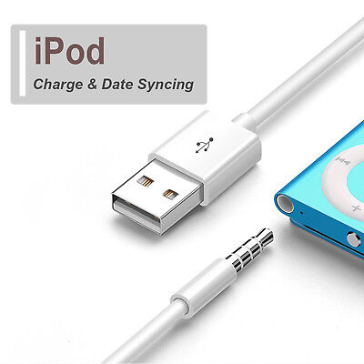USB 2.0 Charger Data Sync Cable Lead For 1st 2nd Generation A pple i Pod Shuffle
