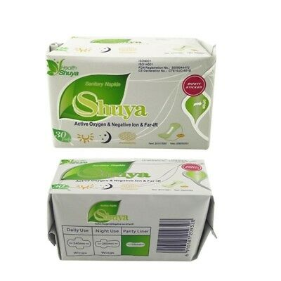Anion Sanitary Napkin/Pads For Women 60piece/2 pack/lot