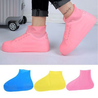 Overshoes Unisex Rain Boot Shoes Covers Rubber Waterproof