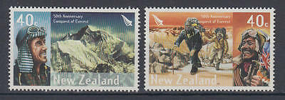 Neuseeland (New Zealand) - Michel-Nr. 2096-2097 postfrisch/** (Mount Everest)