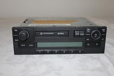 VW Volkswagen Alpha 5 Polo/Lupo BVX 6X0035153A Radio Kassette (3B) A