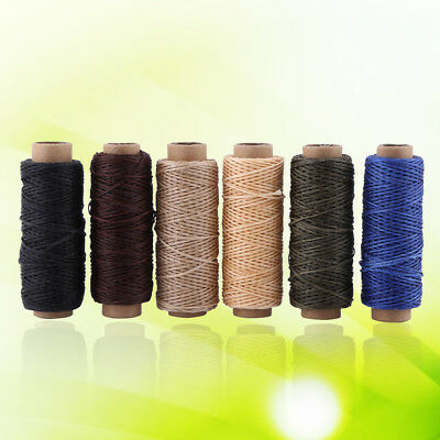 6 Colors Leather Shoe Hand Stitching Handcrafts Waxed Sewing Thread 150D 50M Acs