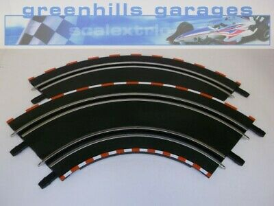 Greenhills Carrera Go!!! Track 90 degree Curve 141136 G Red & White - New x 2...