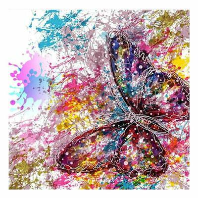 Schmetterling 5D Diamond Painting Diamant DIY Kreuzstich Stickerei Malerei Bild
