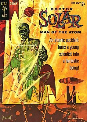 Us Comics Doctor Solar Man Of The Atom Silver Age Collection On Dvd