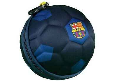 New LIMITED EDITION La Liga FC Barcelona Collapsible Soccer Ball Lunch Bag Box