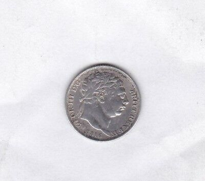 1816 George Iii Sixpence In Used Fine Or Better Condition