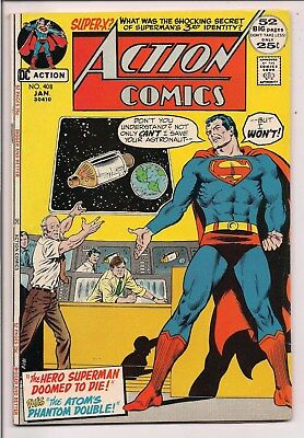 Action Comics #408 (Jan 1972, DC) Combined Shipping, No Extra Cost