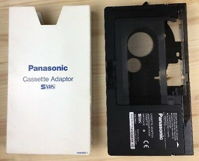 PANASONIC Cassette Adapter VW-TCA7E for Camcorder VHS-C/S-VHS-C to VHS