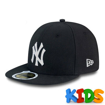 New York Yankees Officially Licenced MLB KIDS New Era 5950 Fitted Cap
