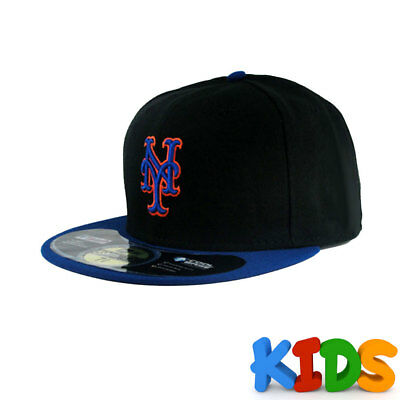 New York Mets Officially Licenced MLB KIDS New Era 59FIFTY Fitted Cap