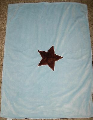 Koala Baby Blanket Blue Chocolate Brown Star Plush Babies R Us Infant Lovey