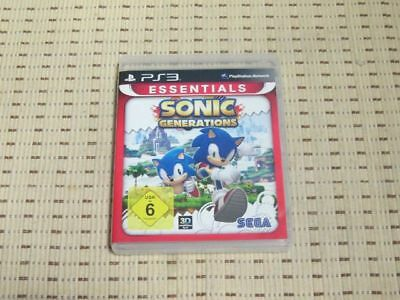 Sonic Generations für Playstation 3 PS3 PS 3 *OVP* E