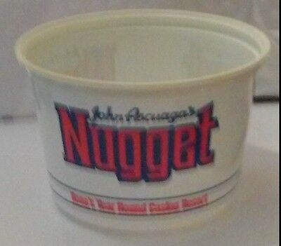 John Ascuaga's Nugget Casino Reno, Nevada Hard To Find Year Round Change Cup!