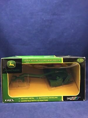 JOHN DEERE 535 ROTARY MOCO - 2005 ERTL 1:32 SCALE #15312 new in box