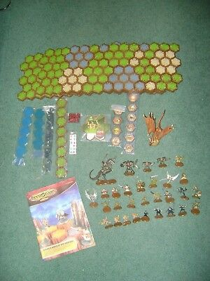 Heroscape Master Set Rise Of Valkyrie  Most Pieces Still Sealed