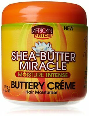 African Pride Shea Butter Miracle Cr me Hair Moisturizer 170 g