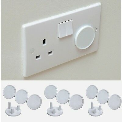 UK Plug socket cover protector baby child safety guard electric proof 1 to 18