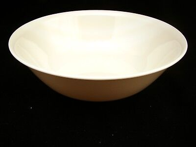 "Corning Corelle SANDSTONE (Beige Coupe) Round Vegetable Bowl/s 8 1/2"" EXCELLENT"