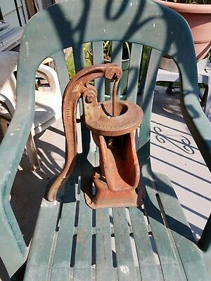 antique cast iron hand water pump