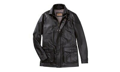 Porsche Driver's Selection Classic Men's Leather Jacket