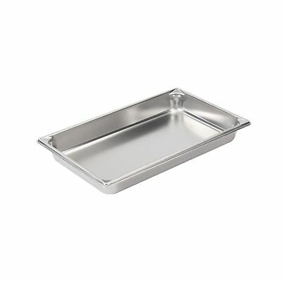 "Vollrath (30022) 2-1/2"" Deep Super Pan V Stainless Steel Full-Size Steam Tabl..."