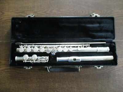 Gemeinhardt Silver 50 Series Model 52SP Closed Hole Offset G Flute USA with Case