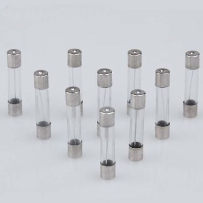 NEW 5/ Pcs 125V Fast Blow (Quick Acting) GLASS Fuses, 5x20mm, F5a / 250V