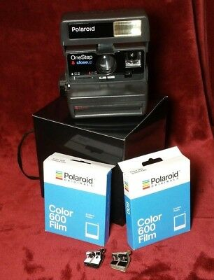 Polaroid 600 Camera One Step Close Up Fully Tested Instant Originals with Film