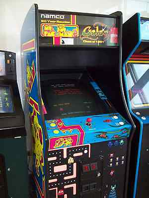 GALAGA MS. PAC-MAN 25th Fully Restored, Original Video Arcade Game with Warranty