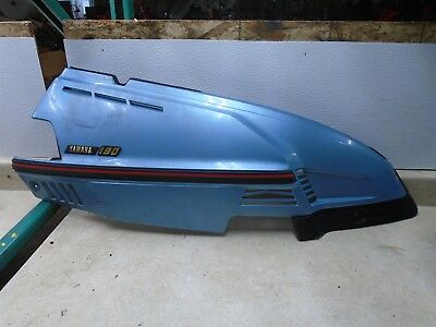 Yamaha 180 XC RIVA XC180 SCOOTER Used Right Side Cover Panel 1983 YB182