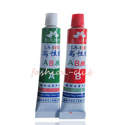 2x Strong Sticky Epoxy Resin Clear Glue Adhesive Immediate A +B Glue Home Craft