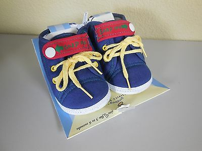Gold Bug Baby First Soft Activity Shoes Size 1 Fits 3 - 6 Months