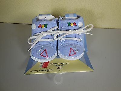 Gold Bug Baby First Soft Activity Shoes Size 0 Fits 0 - 3 Months