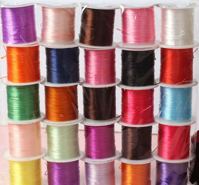 10M Elastic Line String Crystal DIY accessorie made bead Craft Cord Jewelry wire