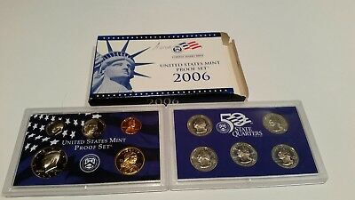 2006 10 Piece United States Mint Proof Set