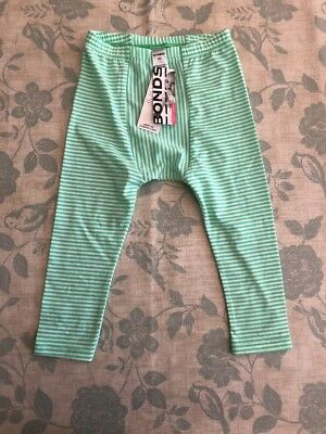 BABY BONDS COTTON STRETCHIES LEGGING PANTS BNWT Sz 2