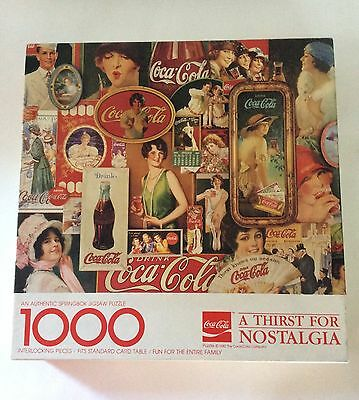 Springbok Puzzle Coca Cola A Thirst For Nostalgia 1000 Pieces