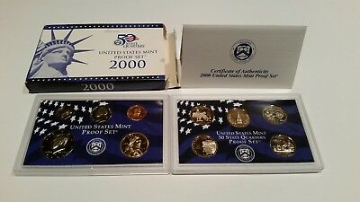 2000 10 Piece United States Mint Proof Set (with COA!)