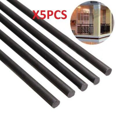 5pcs 3mm Diameter x 500mm Carbon Fiber Rods For RC Airplane High Quality Pole