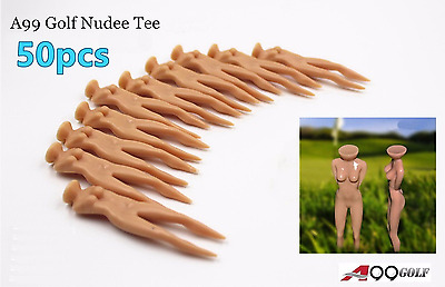 50pcs A99 GOLF nudie tee practice great gift for male golfer funny gift