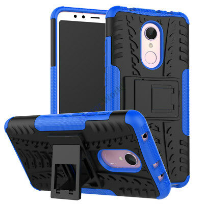 For Xiaomi Redmi 5 Plus Rugged Hybrid Armor Shockproof Hard Case Stand Cover
