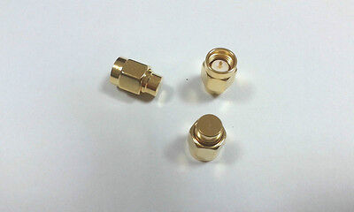 4pcs Gold plated SMA 50 OHM Coaxial Termination LOADS SMA male connector