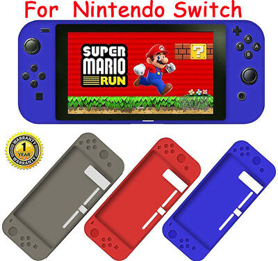 Slim Soft Silicone Rubber Cover Case Skin Sleeve For Nintendo Switch NES Console