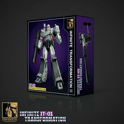 Infinite Transformation IT01 Emperor Of Destruction (KO MP-36 Megatron) [Pre-ord