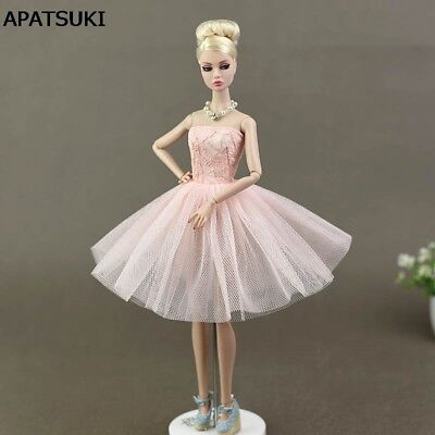 """Doll Accessories Costume Ballet Dresses Lace Skirt Dress Clothes Fo11.5"""" Doll"""