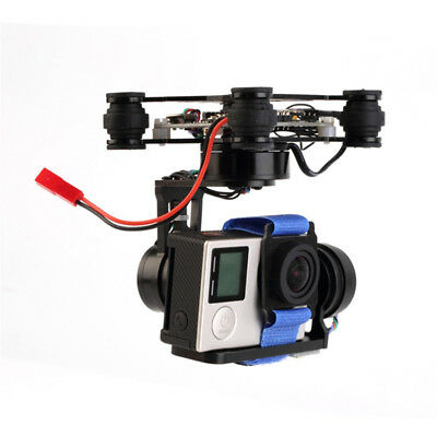 Storm32 3 Axis Brushless Gimbal Camera Stabilizer for Gopro3 / Gopro4 FPV Drone