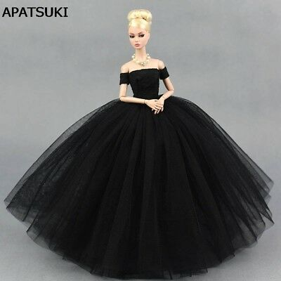"Black Little Dress Wedding Dress for 11.5"" Doll Dresses Clothes for 1/6 Doll Toy"