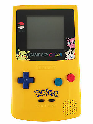NINTENDO GAME BOY COLOR - Pokemon Edition Gameboy Colour FULLY REFURBISHED