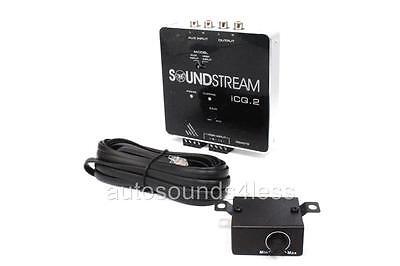 Soundstream ICQ.2 Audio 2-Channel OEM Integration Line Input High Low Converter